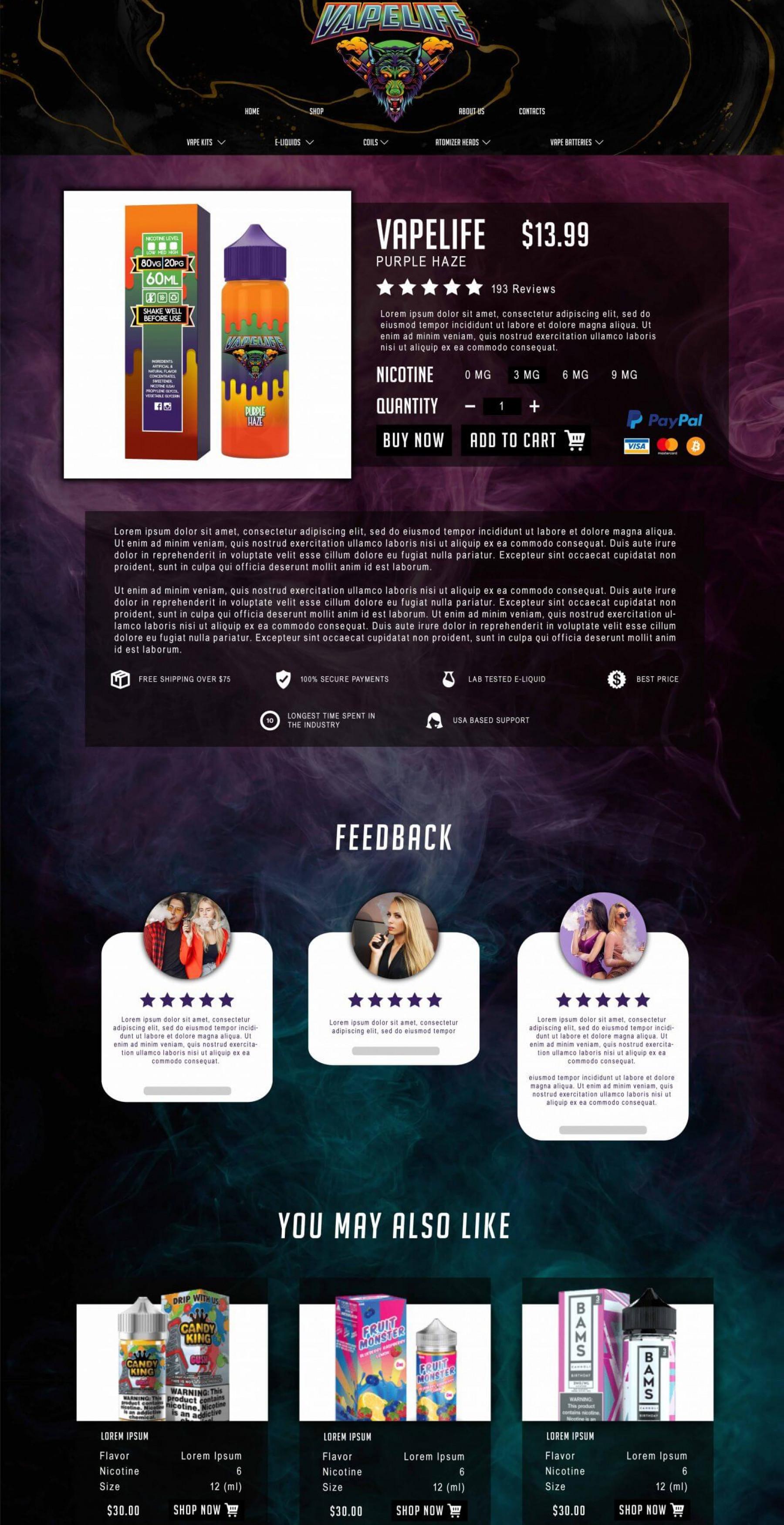 Vapelife – Product-min